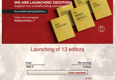 13 EDITORA IS BORN!!