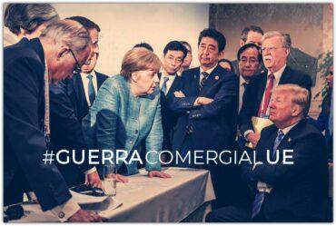 LA UNIÓN EUROPEA EN GUERRA (COMERCIAL)