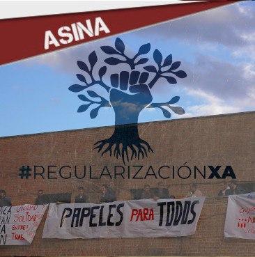 ASINA: REGULARIZACIÓN DAS PERSOAS MIGRADAS!