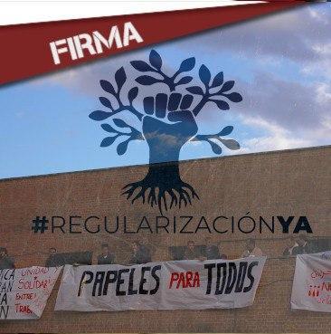 FIRMA:REGULARIZACIÓN DE LAS PERSOAS MIGRADAS!