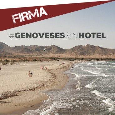 FIRMA: NO AL HOTEL EN LA PLAYA DE LOS GENOVESES