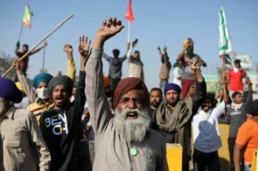 INDIA: BREAK OUT OF FARMER REVOLT