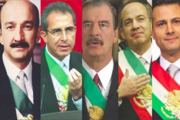 MEXICO JUDGE ITS FORMER PRESIDENTS