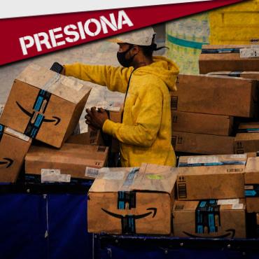 PRESIONA: DI A AMAZON QUE RESPETE EL DERECHO A SINDICARSE