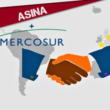 ASINA: NON AO TRATADO DE LIBRE COMERCIO UE-MERCOSUR!