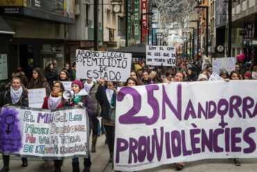 THE RISK TO FIGHT FOR ABORTION IN ANDORRA