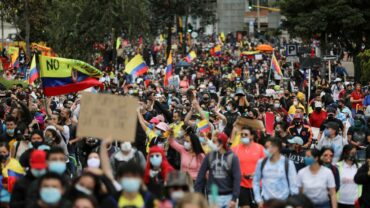 COLOMBIA: A HIGHLY PAID VICTORY